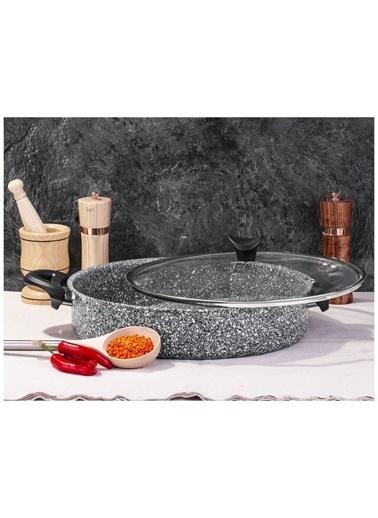 Taç Mutfak tac-ultragranıtkısa28 Taç Ultra Granit Karnıyarık Basık Tencere 28 Cm Renkli